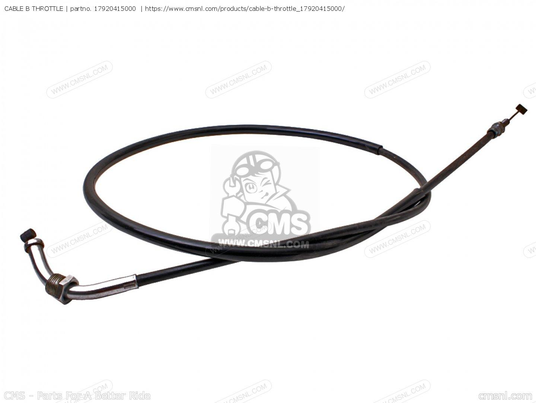 Cable B Throttle For Cx500 Australia