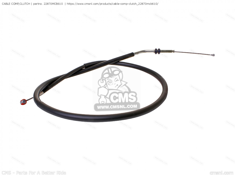 Mcb610 Cable Comp Clutch Honda
