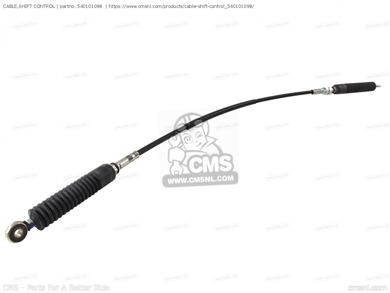 Cable Shift Control Kaf300 B1 Mule500 Europe