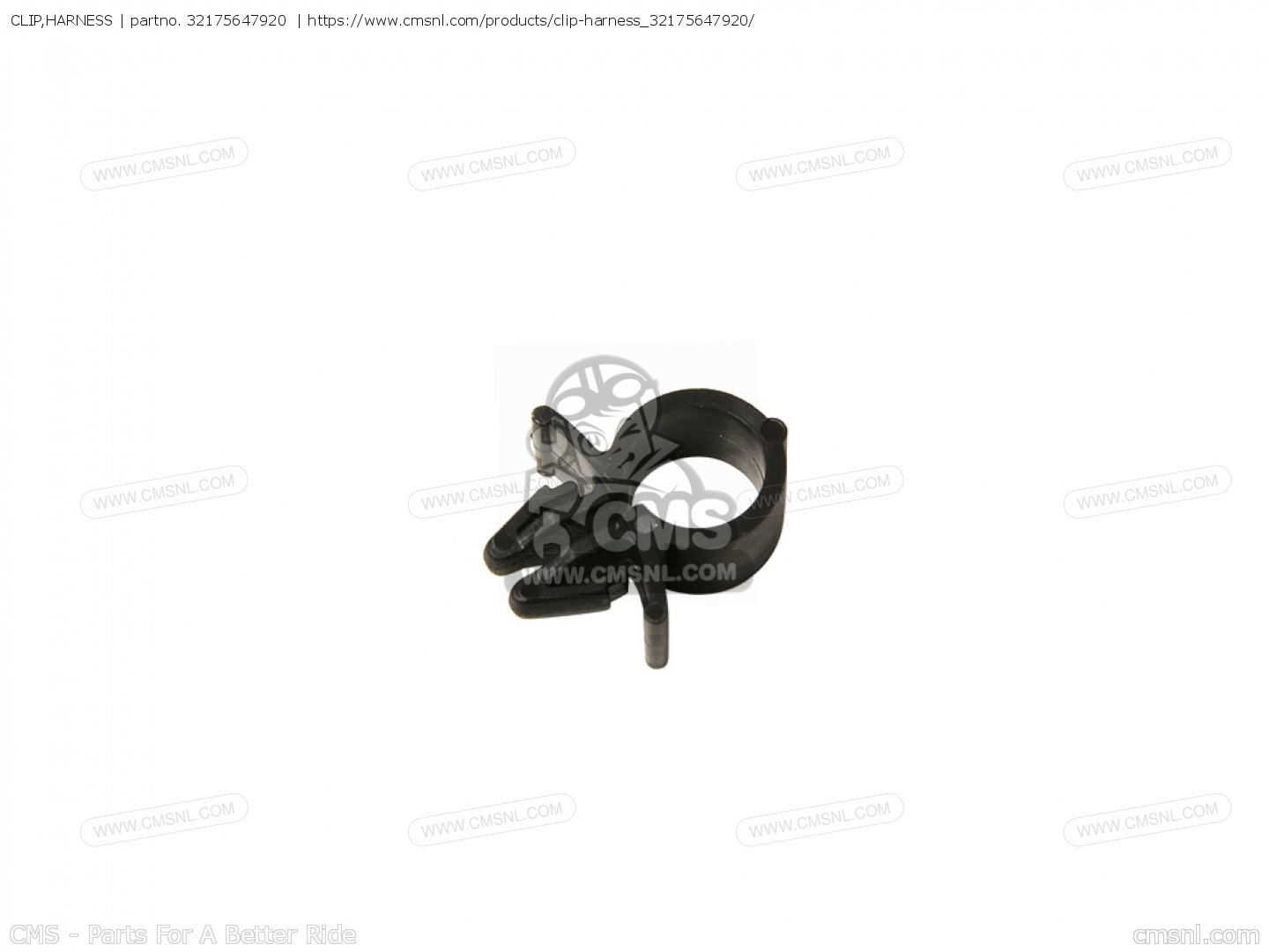Clip Harness For Cx500 France