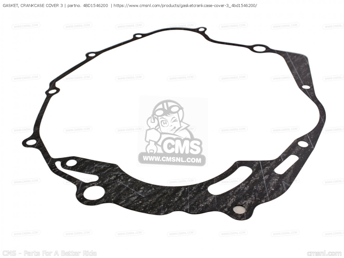 Gasket Crankcase Cover 3 For Yfm250w Moto 4