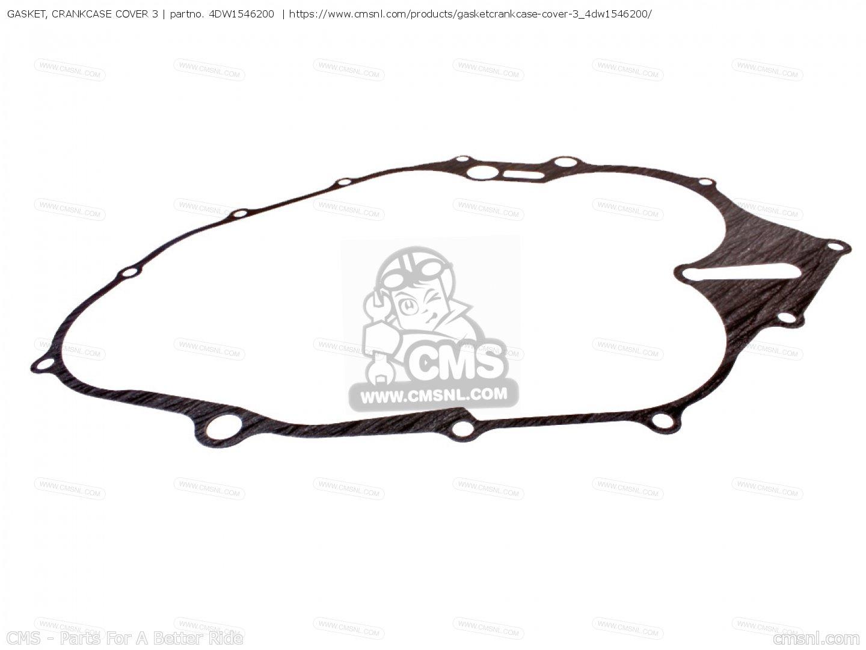 4dw Gasket Crankcase Cover 3 Yamaha