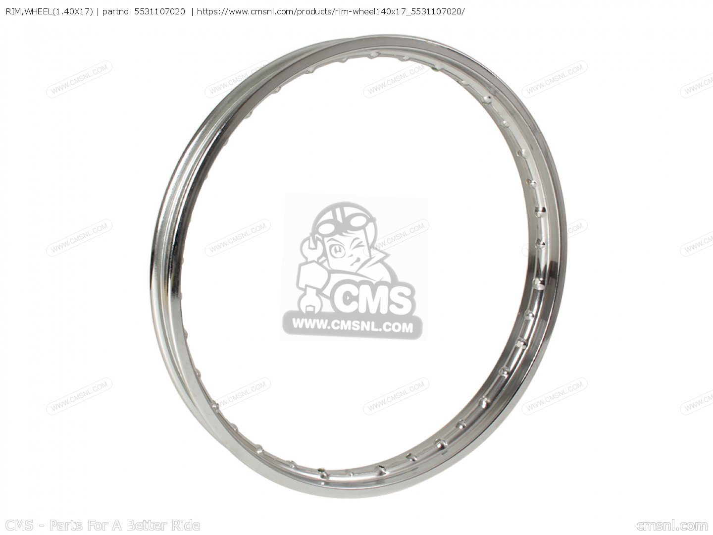 Rim Wheel 1 40x17 For K10 K11 K15 Usa E03