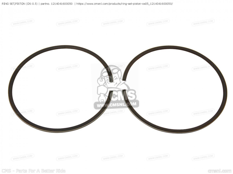 Ring Set Piston Os 0 5 For Pe250 B Usa E03