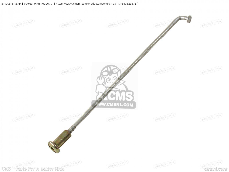 Spoke B Rear For Cl77 Scrambler Usa 305
