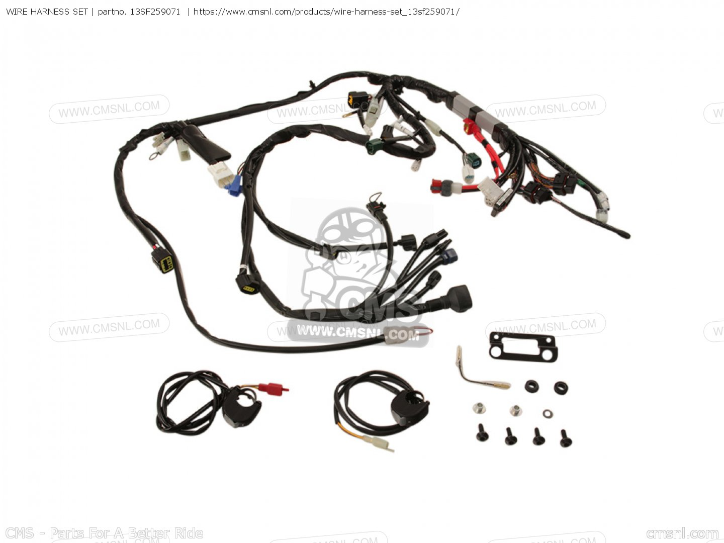 13sf Wire Harness Set Yamaha