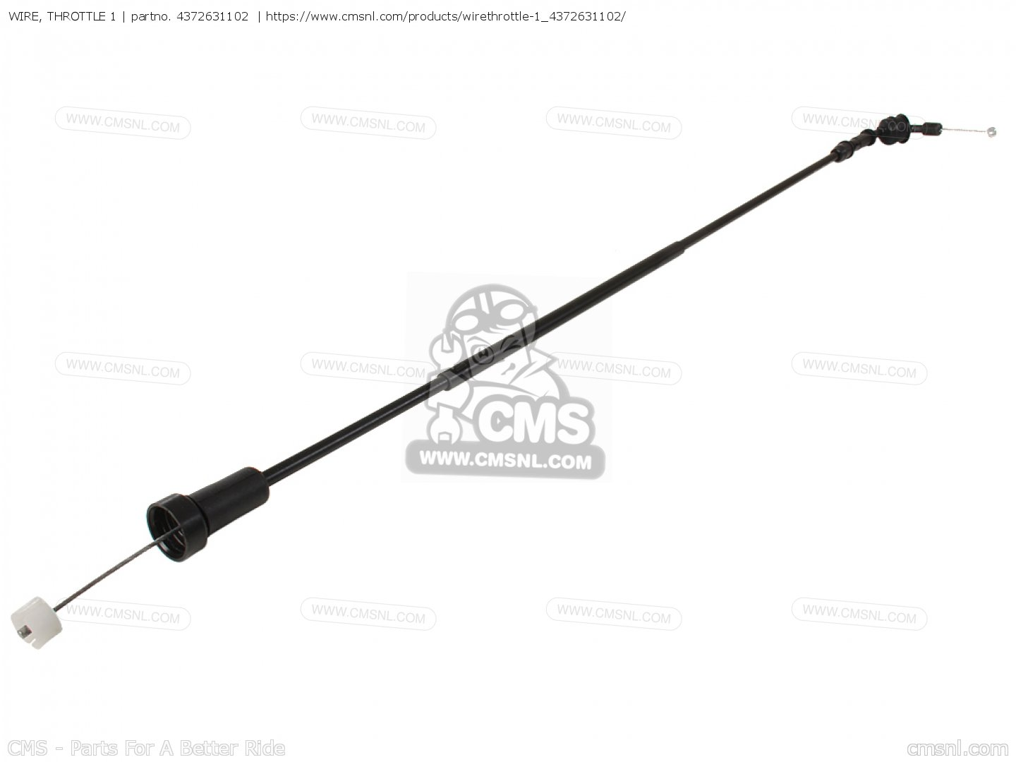 Wire Throttle 1 For Dt400 Usa