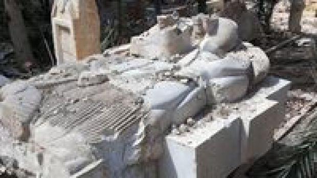 Jejak-Jejak Kehancuran yang Ditinggalkan ISIS di Palmyra
