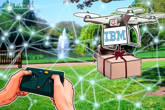 IBM presenta una patente Blockchain para combatir el robo de paquetes por Drone 2