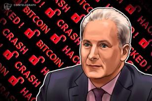 """Peter Schiff verliert Bitcoin: Krypto-Besitz """"eine schlechte Idee"""""""
