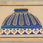 Drawing Design For Lampshade Objects Collection Of Cooper Hewitt Smithsonian Design Museum