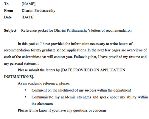 Recommendation Letters For Grad School: What You Need To