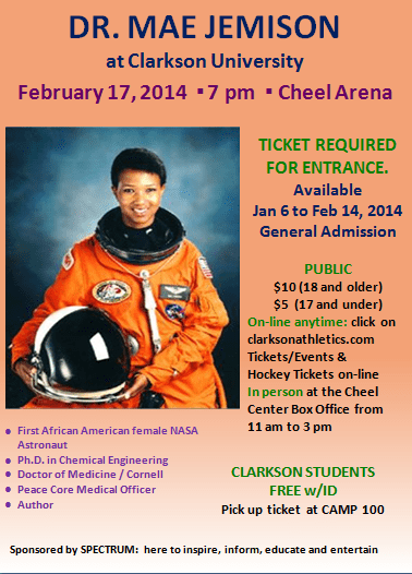 Dr. Mae Jemison, NASA's first African American Female ...