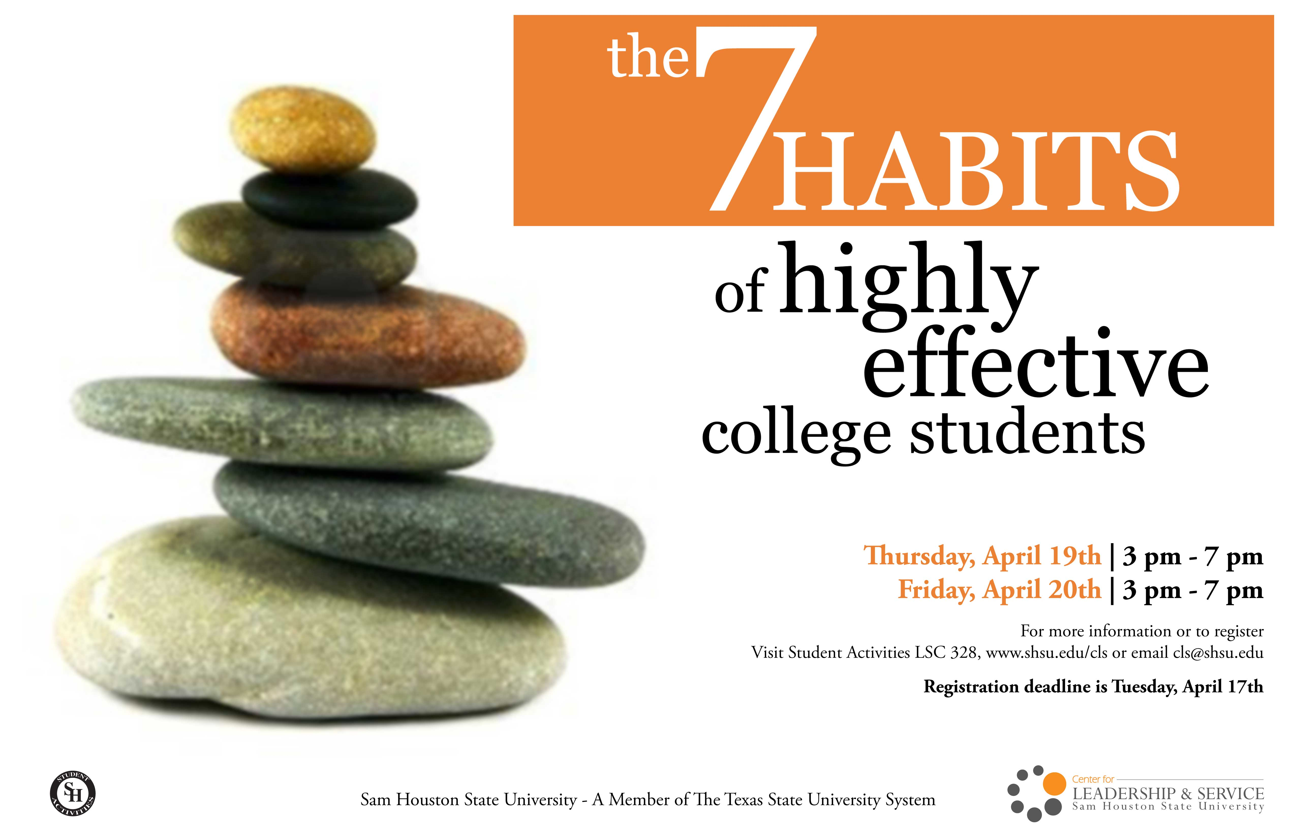 7 Habits Of Highly Effective College Students