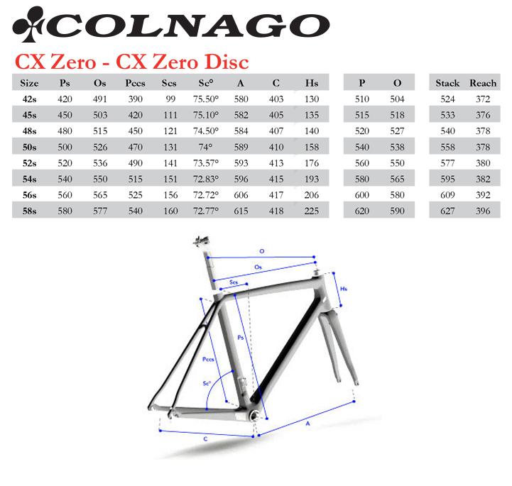 colnago frame sizing | Framess.co