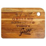 Grilled To Perfection Custom Wood Cutting Board Colorful Images