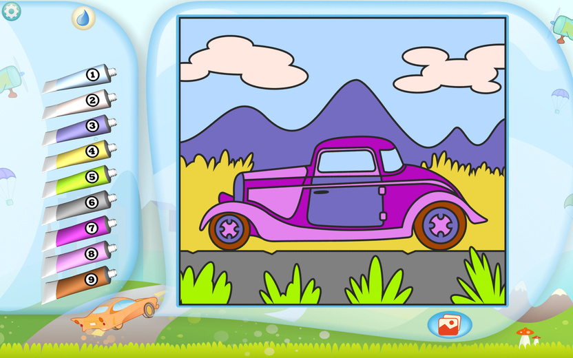 Hot Rod Coloring Page Printables Apps For Kids