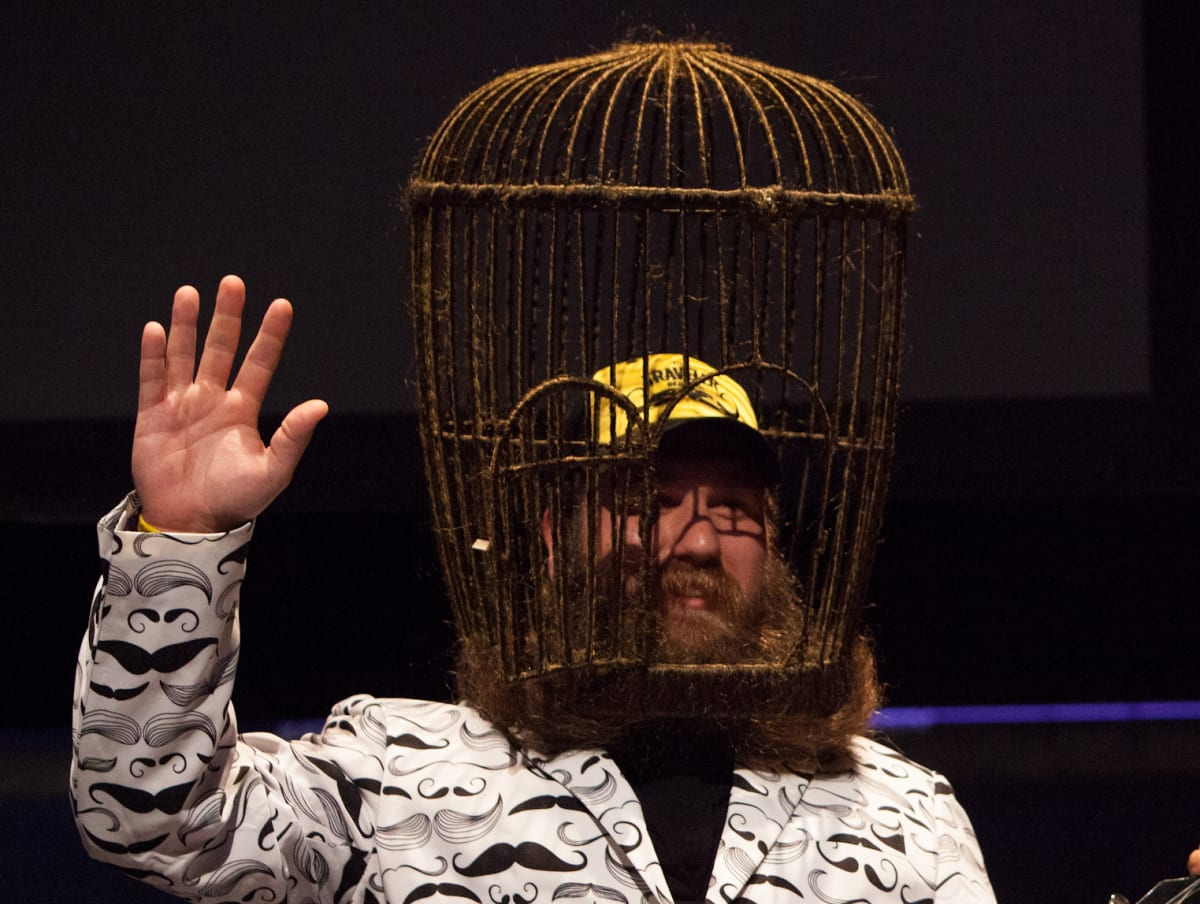 This Guy Actually Built A Functioning Bird Cage Out Of His