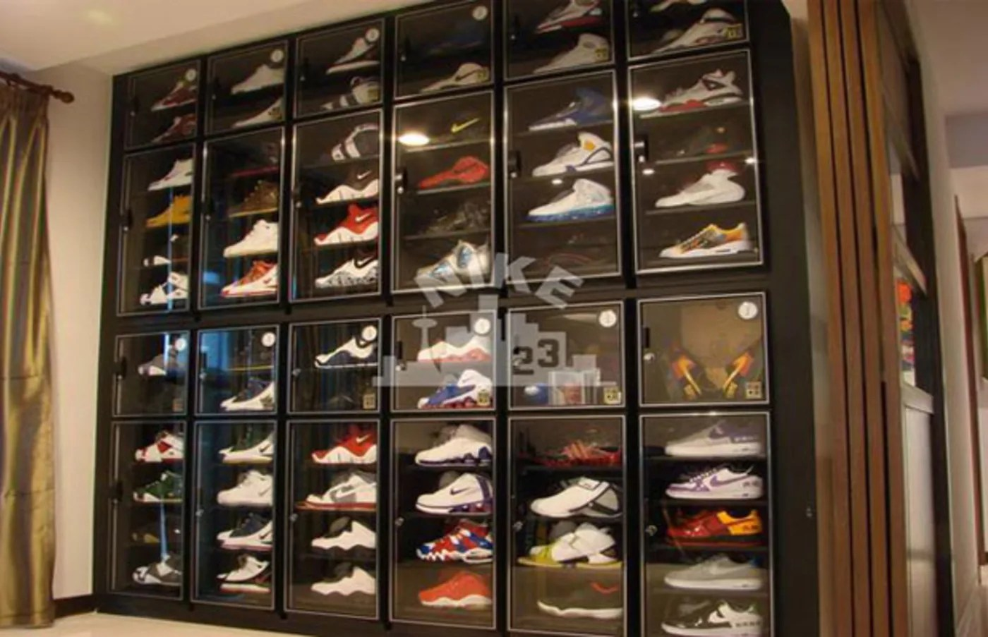 how to store your sneaker collection