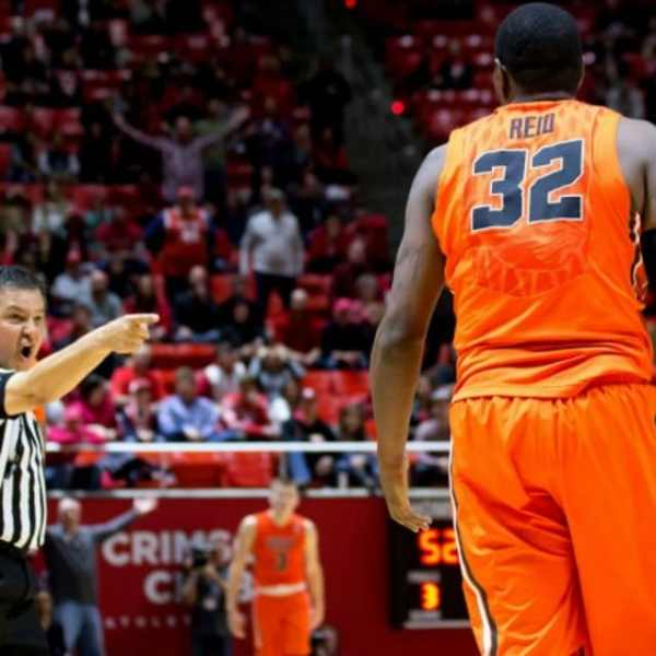 Jarmal Reid (Oregon State F) Ejected From Game After ...