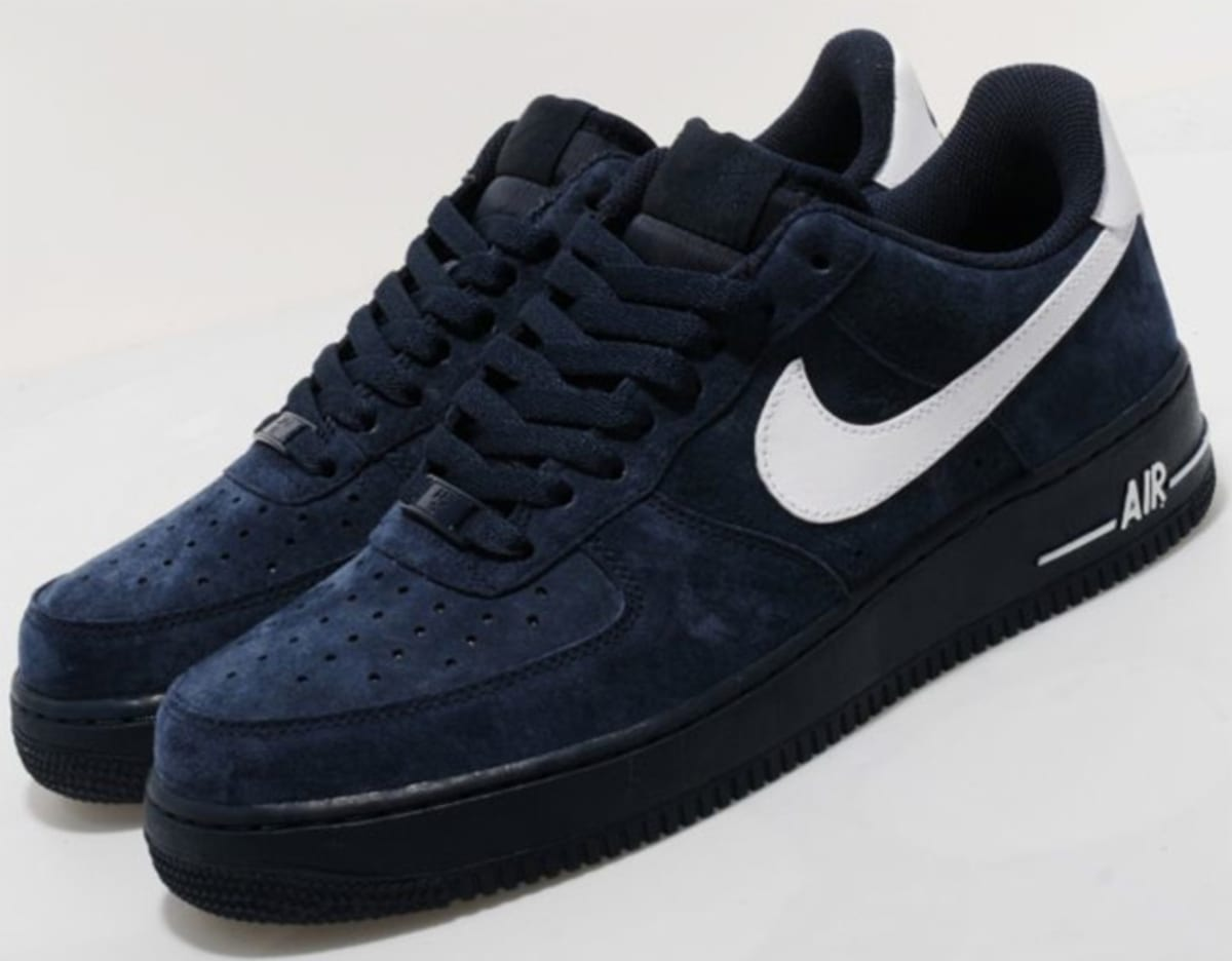 Nike Air Force 1 Low Obsidian Suede Complex