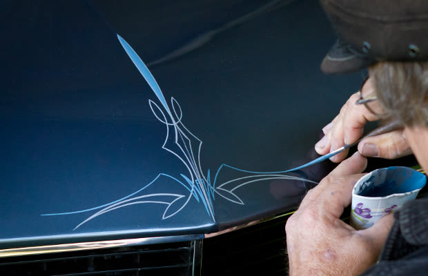Pinstriping 25 Ways To Customize Your Car Without Looking Like A Douchebag Complex