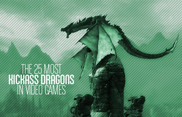 The 25 Most Kickass Dragons in Video Games   Complex If there is a book out there on the history of video game characters  there  has to be a chapter devoted to dragons  Dragons in gaming emerged as early  as