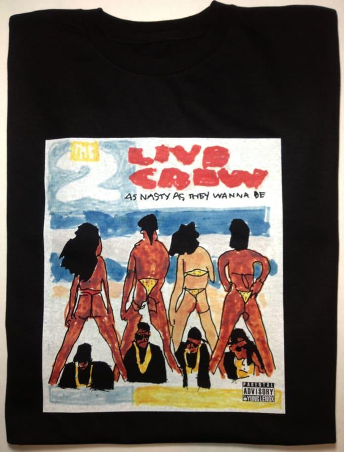 Coke Magic Puts Classic 90s Album Covers On T Shirts And