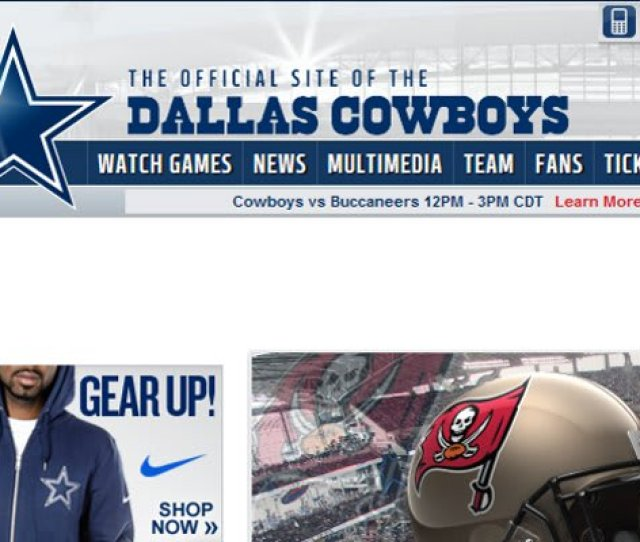 Dallas Cowboys Lost Out On Cowboys Com Domain Name To Male Dating Website