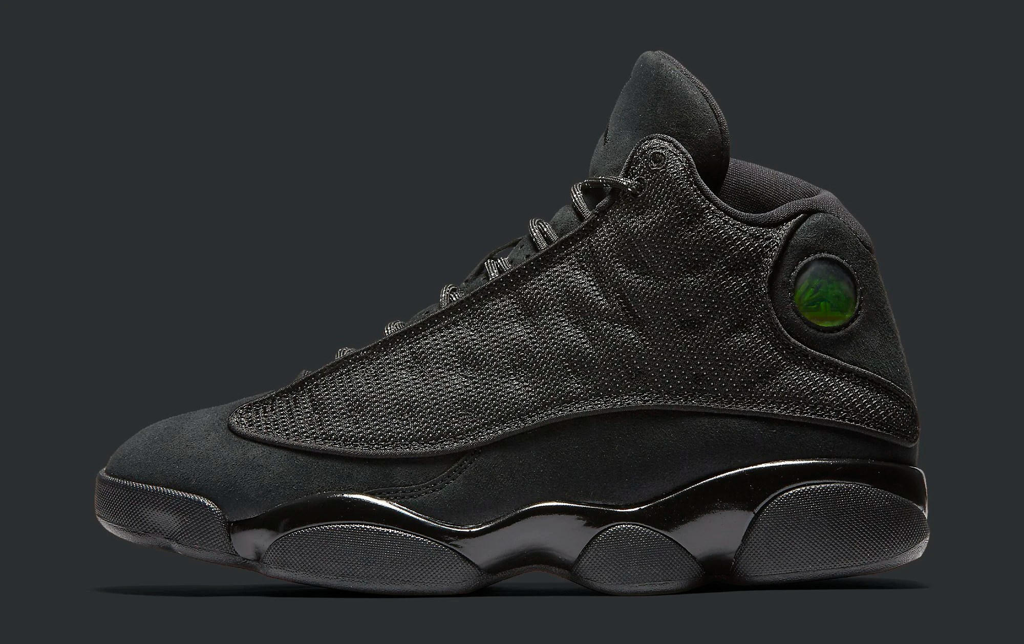 Black Cat Air Jordan 13 414571-011 Profile