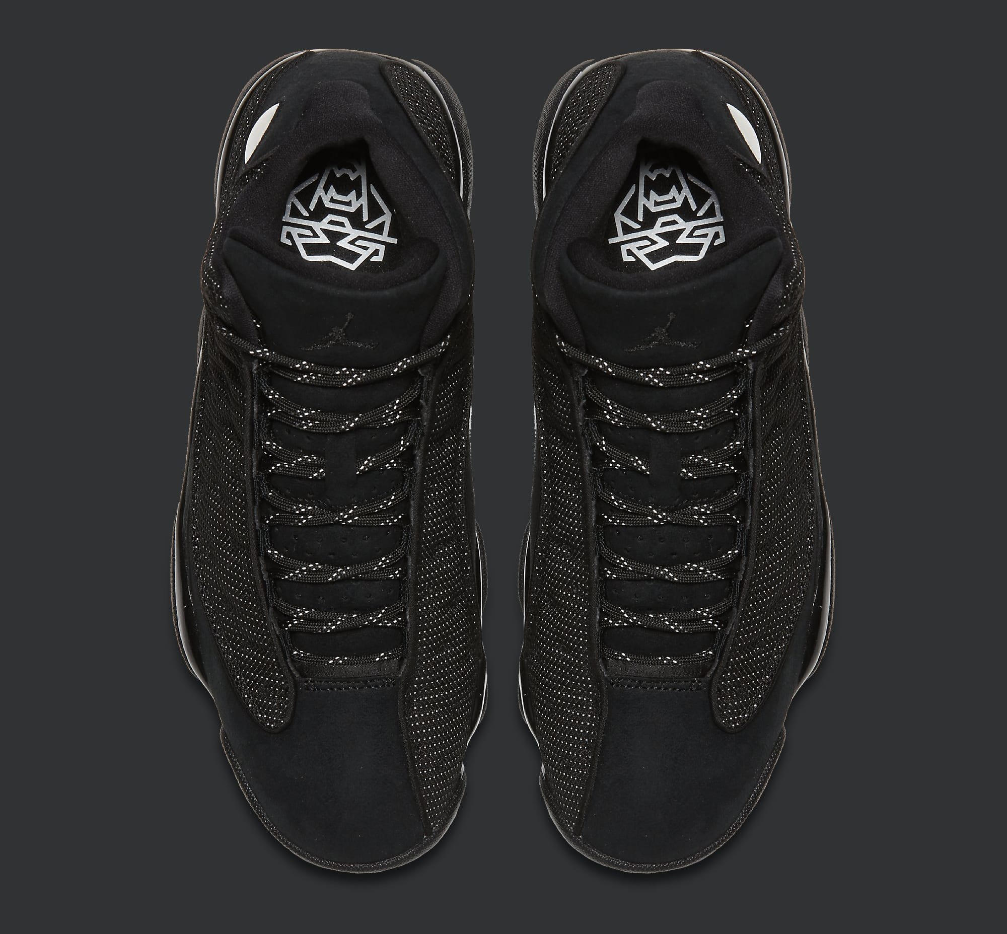Black Cat Air Jordan 13 414571-011 Top