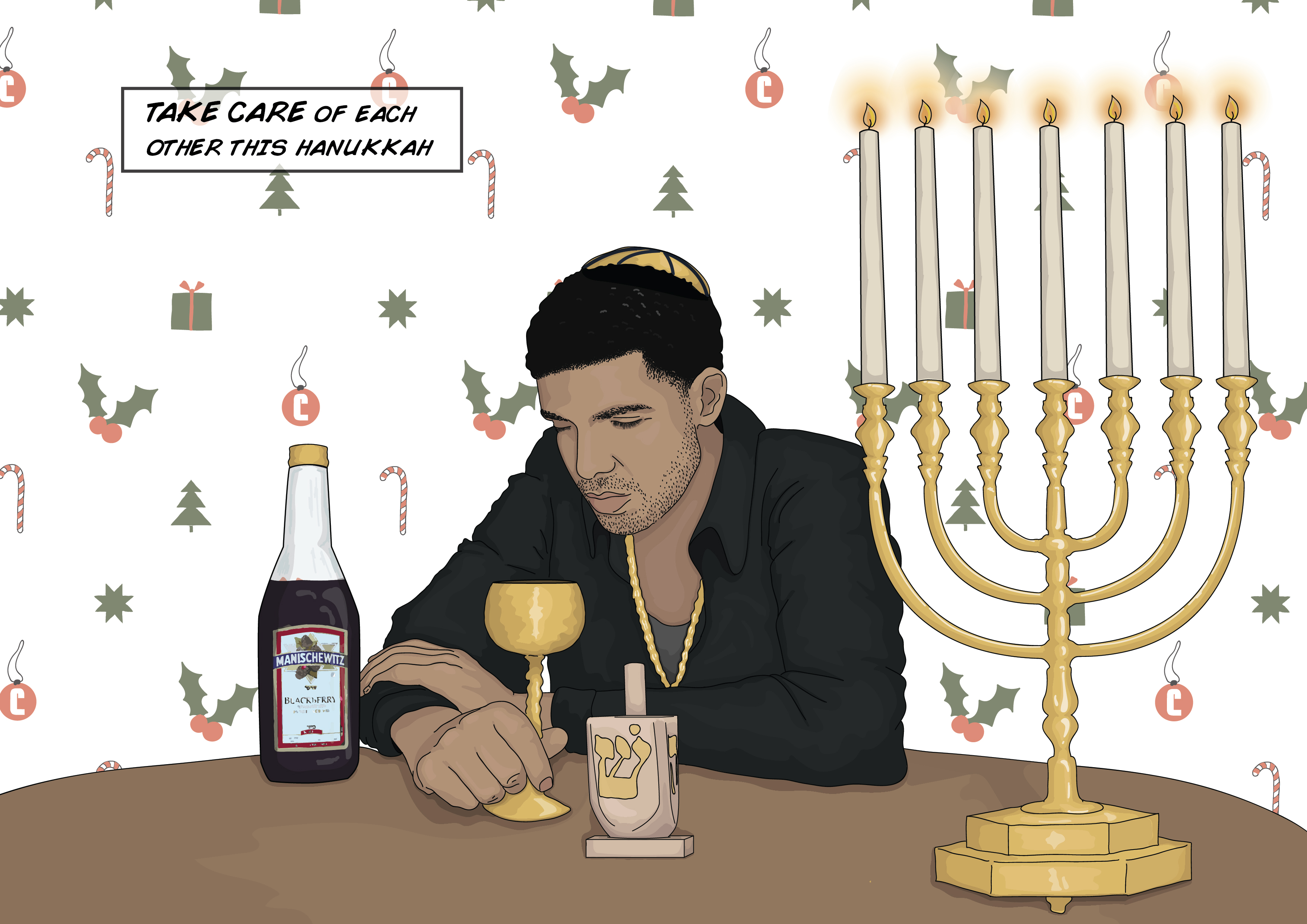 10 Drake Themed Holiday Cards To Give To Your Friends