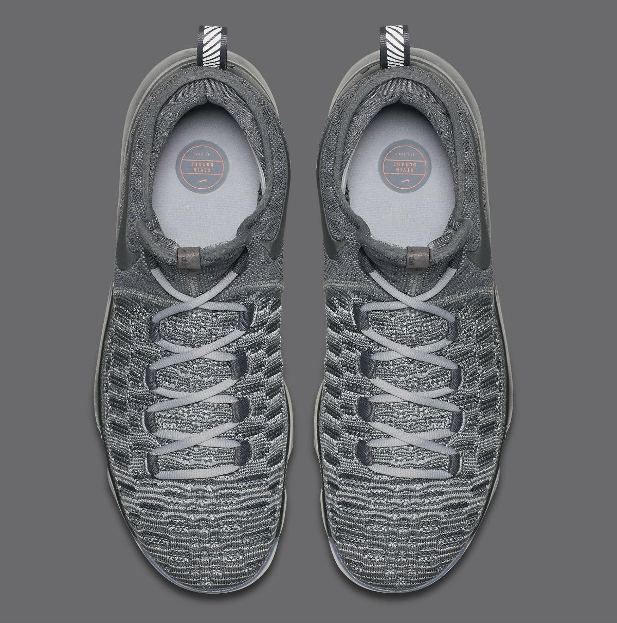 Nike KD 9 Batalla superior gris 843392-002