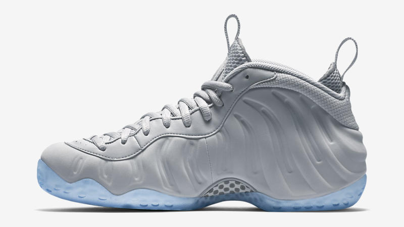 "Nike Air Foamposite One ""Grey Suede""  a53a48abe3"