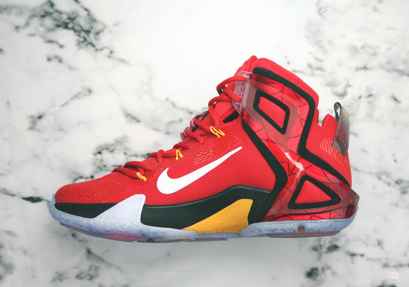 "super popular ce85c 38af4 Here s Your Best Look Yet at the Nike LeBron 12 Elite ""Team"" Edition"