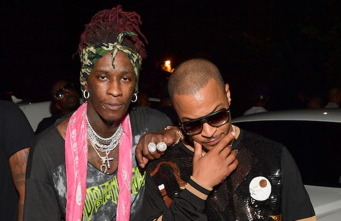 T I  Links Up With Young Thug for  The Weekend    Complex Young Thug and T I