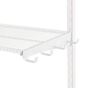 White Elfa Ventilated Wire Shelf Bracket Hooks   The Container Store This review is fromWhite elfa Ventilated Wire Shelf Bracket Hooks