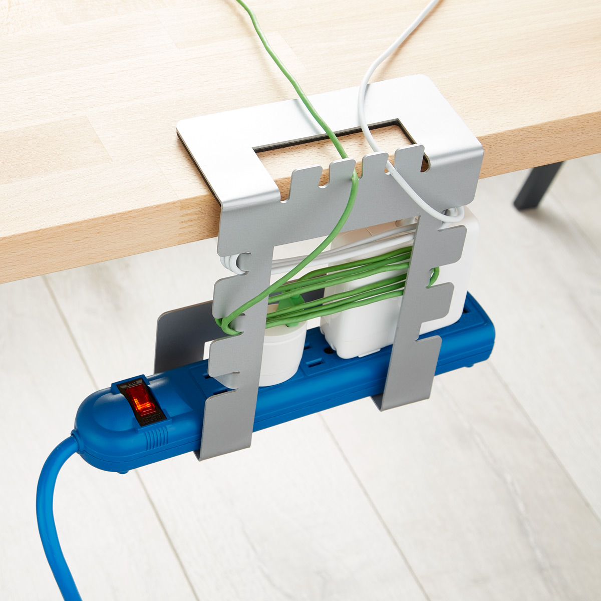 Hanging Cable Loft Cord Organizer | The Container Store