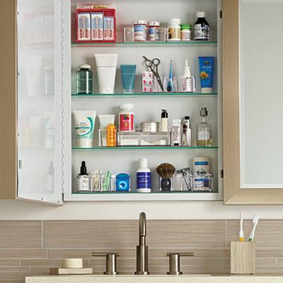 How To Organize Your Medicine Cabinet BATHROOM Ideas