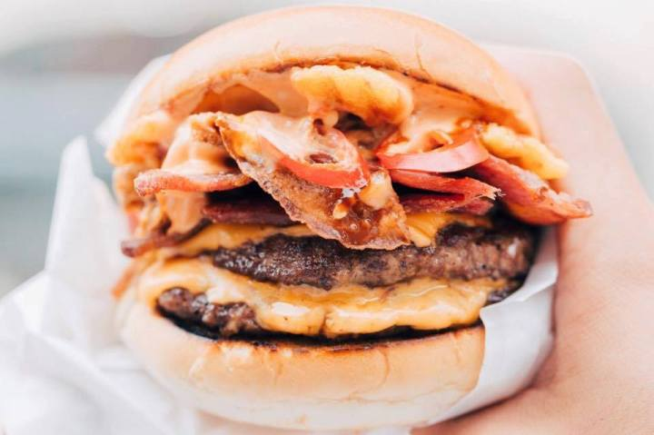 Almost famous burger