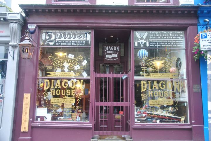 Diagon House shop Harry Potter