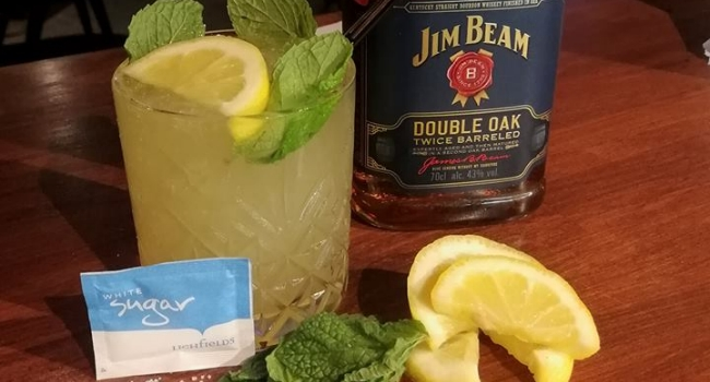 super smasher cocktail from Salbox Bar in Nottingham