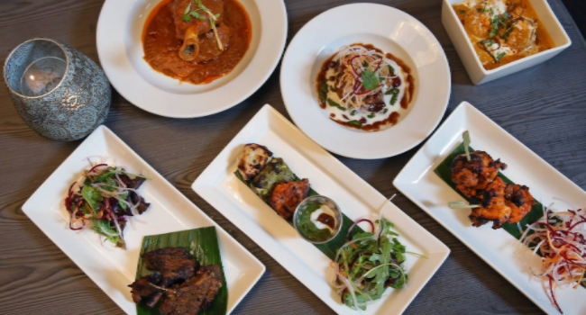 Food dishes from Barton Rouge in Liverpool