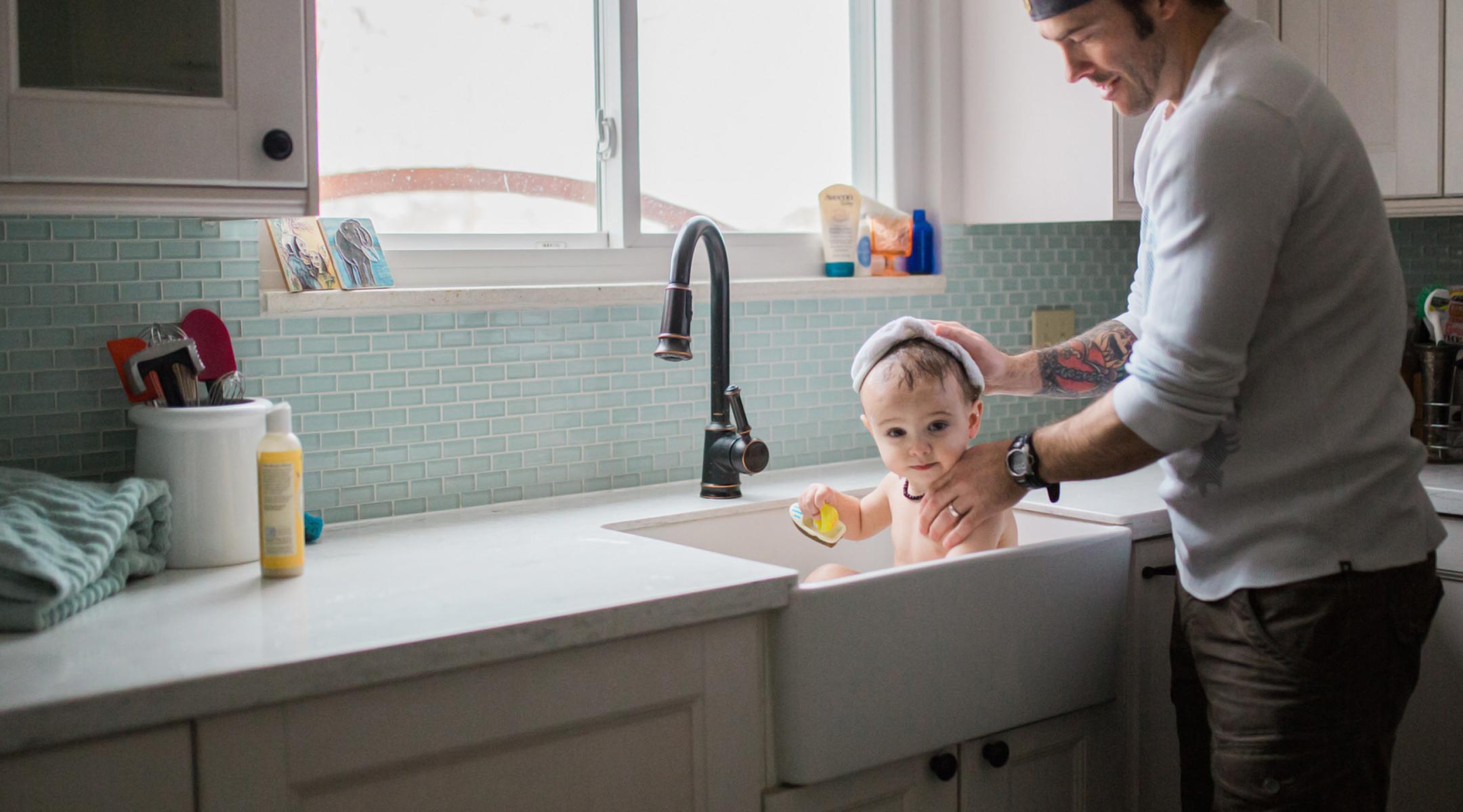 Kitchen Sink Baby Bath Novocom Top