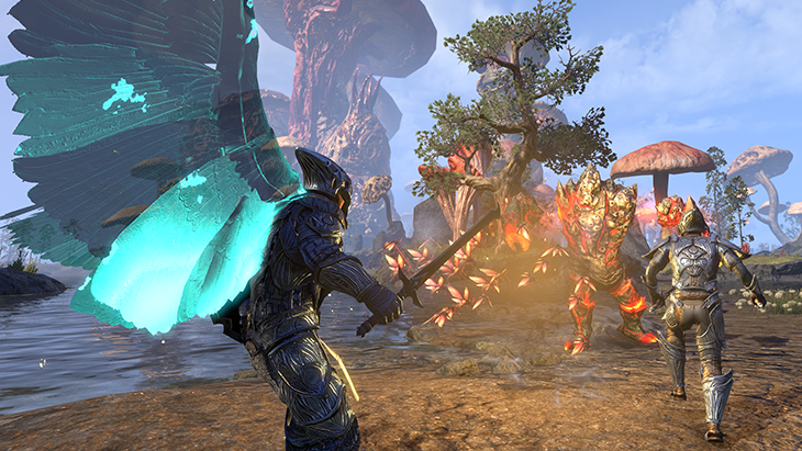The Elder Scrolls Online Morrowind Gameplay Trailer