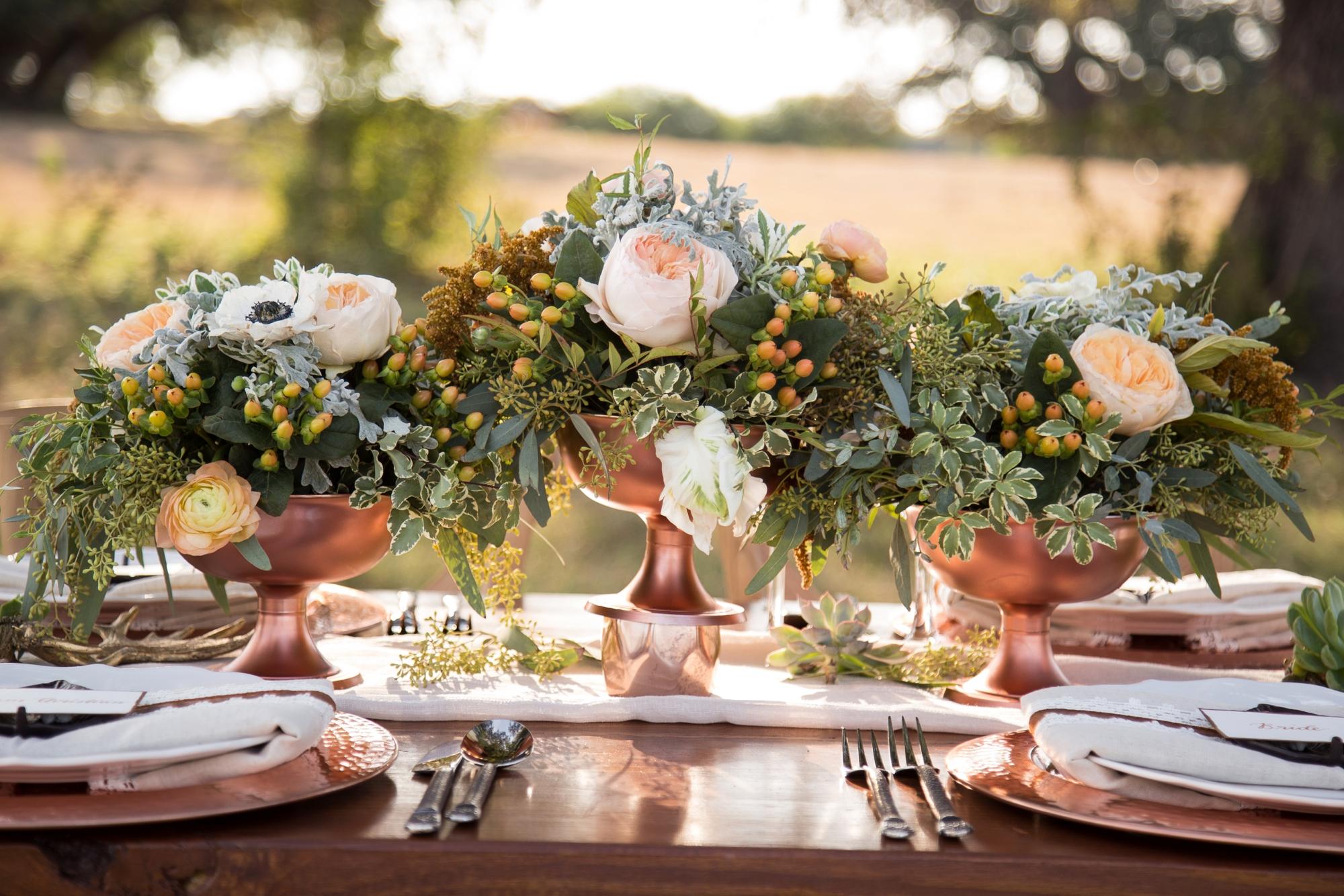 Wedding Flower Arrangements Shopping List