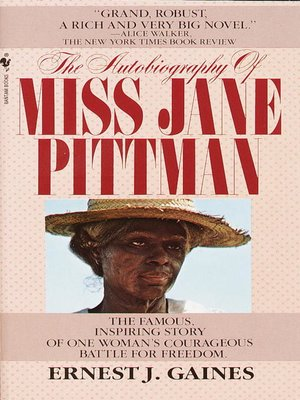 Cover of The Autobiography of Miss Jane Pittman
