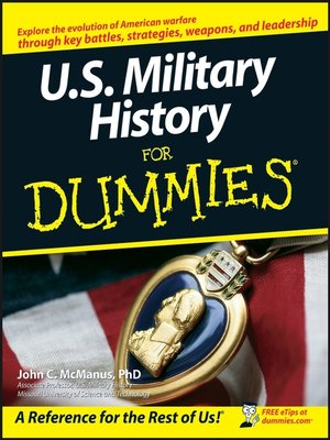 Cover of U.S. Military History For Dummies