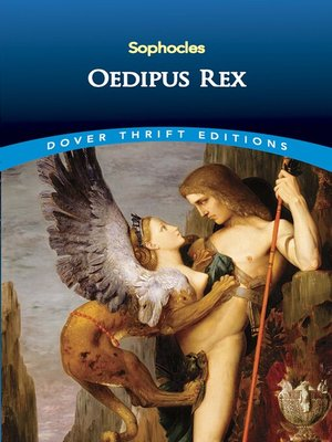 Cover of Oedipus Rex