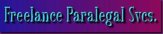 Freelance Paralegal Svcs.